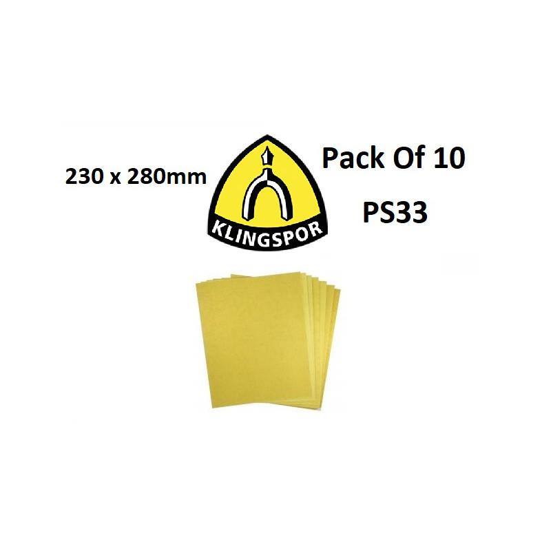 Velcro Sand Discs, 125mm, 180  PS33