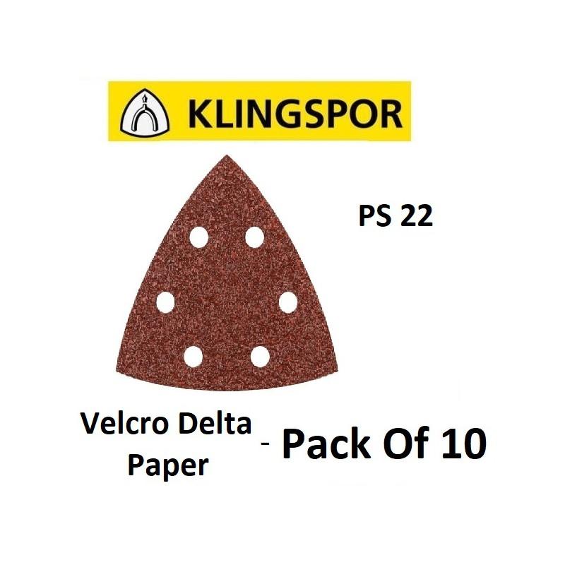 Velcro Delta Paper 120  -...