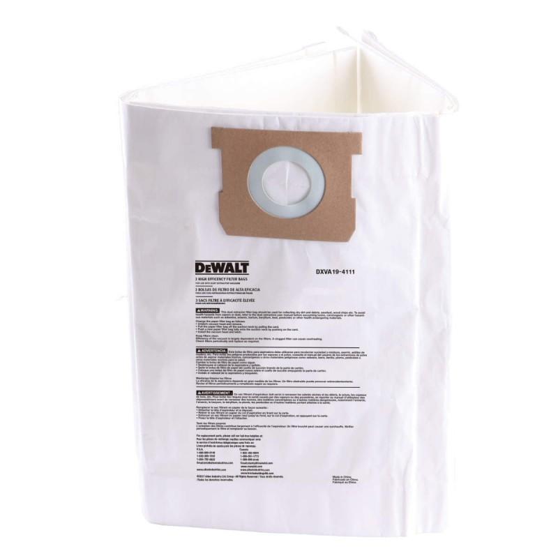 Filter Bag, DEWALT, DXV23,...