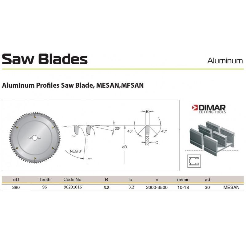 Sawblade 380 X 30 X 096 A,...