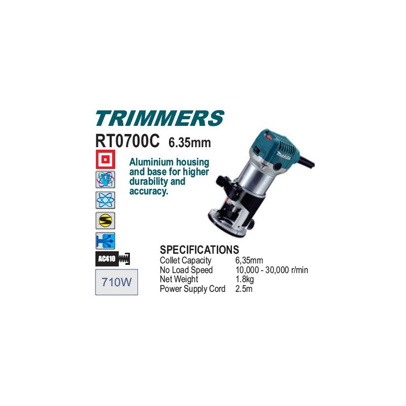 Trimmer, MAKITA, RT0700 C