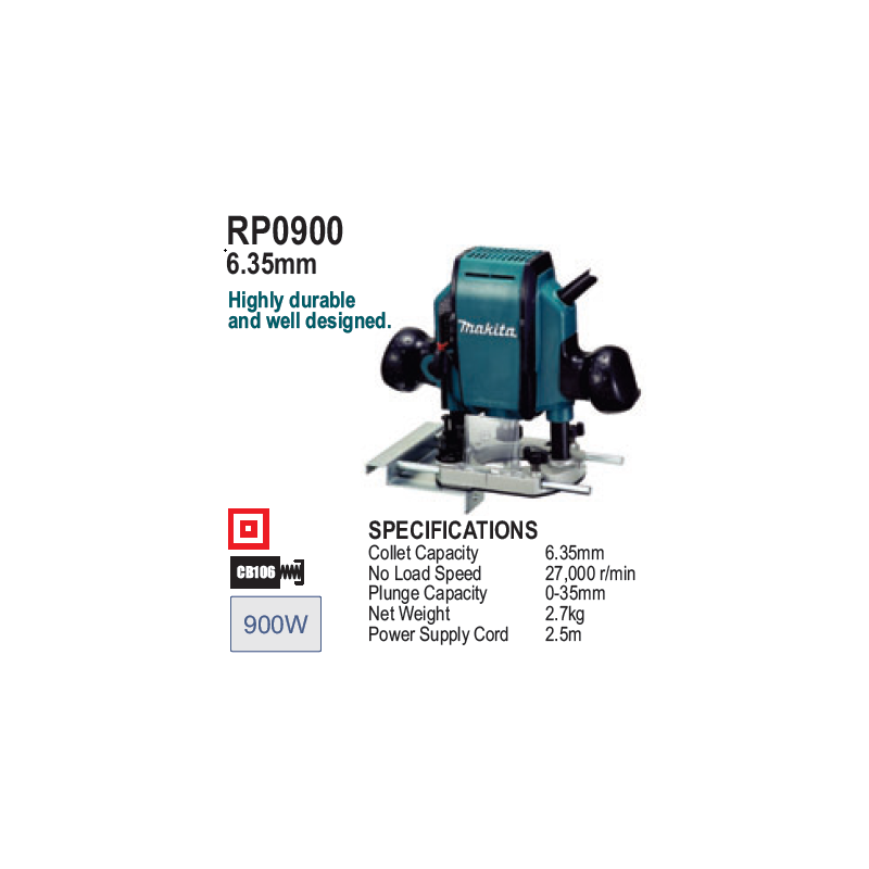 Router 1/4 Inch, 900 Watts,...