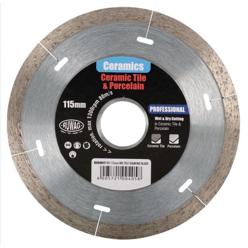 Diamond Blade 115mm Cont...