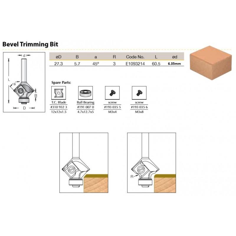 Bevel - Low BB, 27.3 x 45...