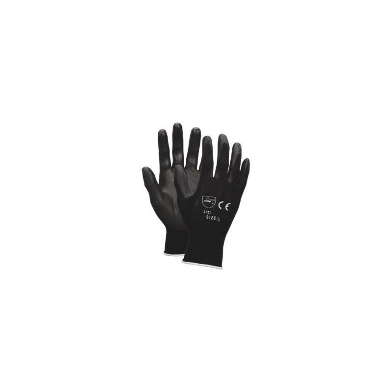 Safety Gloves PU Coated...