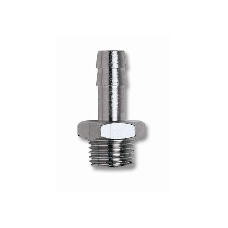 Hose Tail 1/4 Male X 10mm