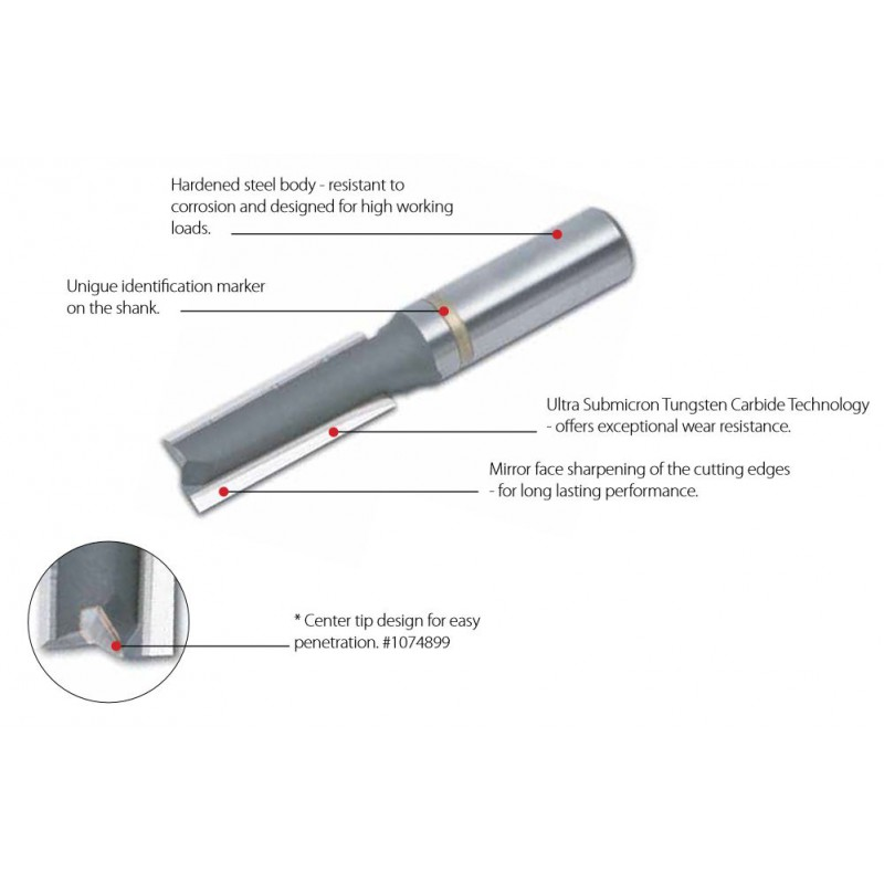 Abrasive Points, 16 x 16, 60 000 Rpm 6mm