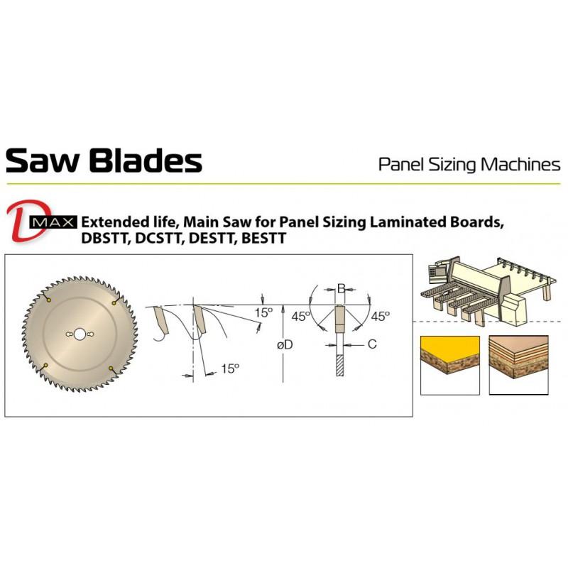 Sawblade 360 X 65 X 072 W,...