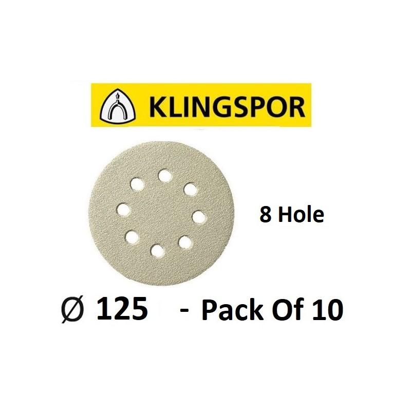 Velcro Discs, 125mm, 8 Hole...
