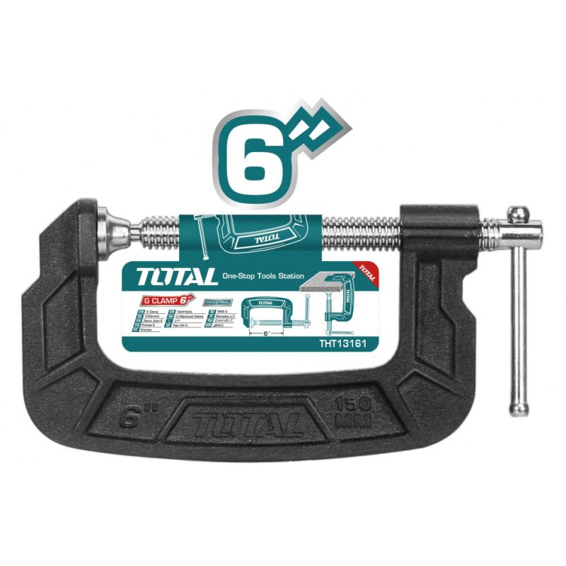 G - Clamp 150mm Malleable...