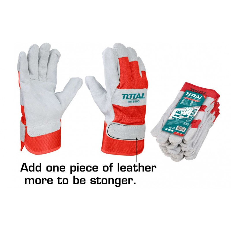 Safety Gloves Leather- TOTAL
