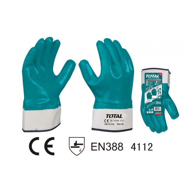 Safety Gloves Nitrile...