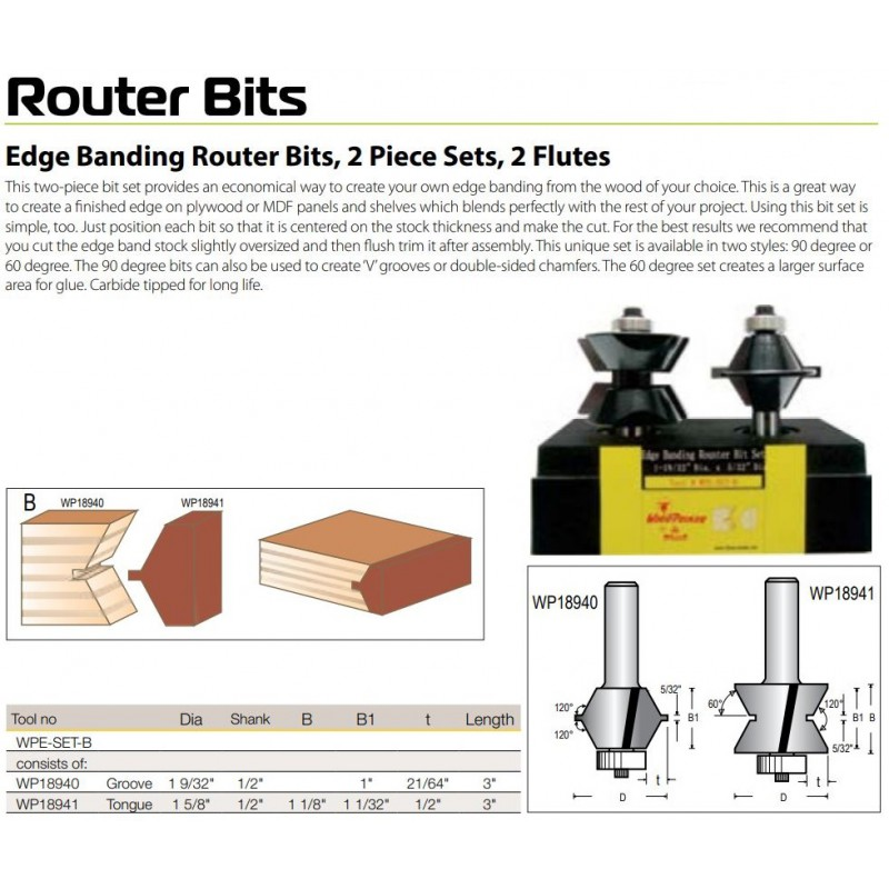 Edge Banding - Tongue &...
