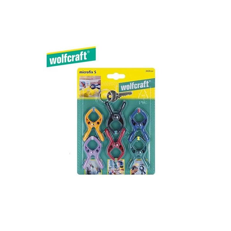 Wolfcraft 6Pc Microfix...