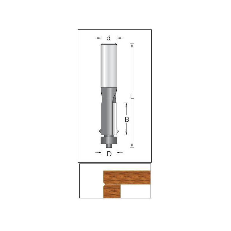 Flush Trim, 12.70 x 25.4mm...