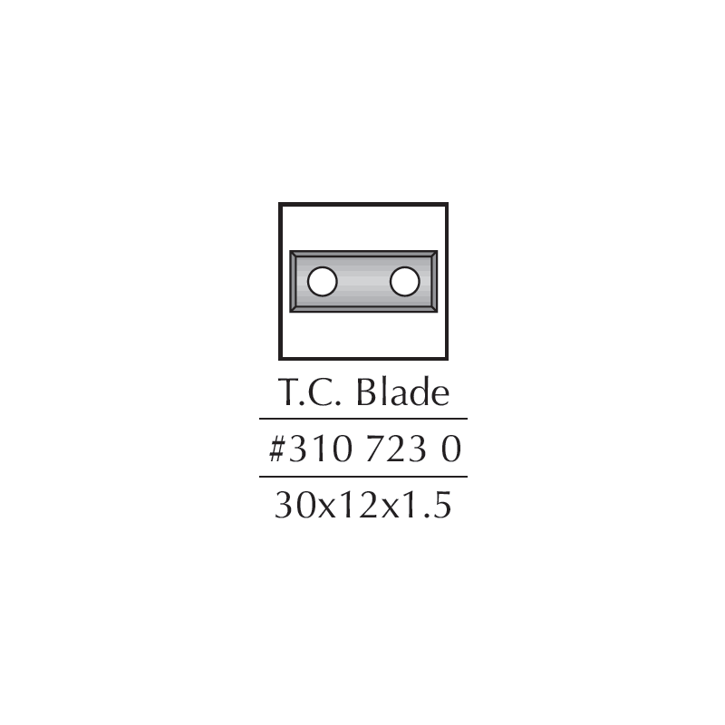 Spare Blades, 29.5 X 12 X...