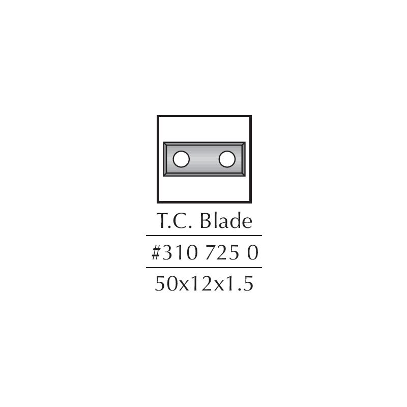 Spare Blades, 50 X 12 X...