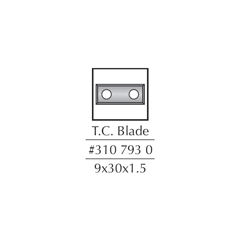 Spare Blades, 29.5 X 09 X...
