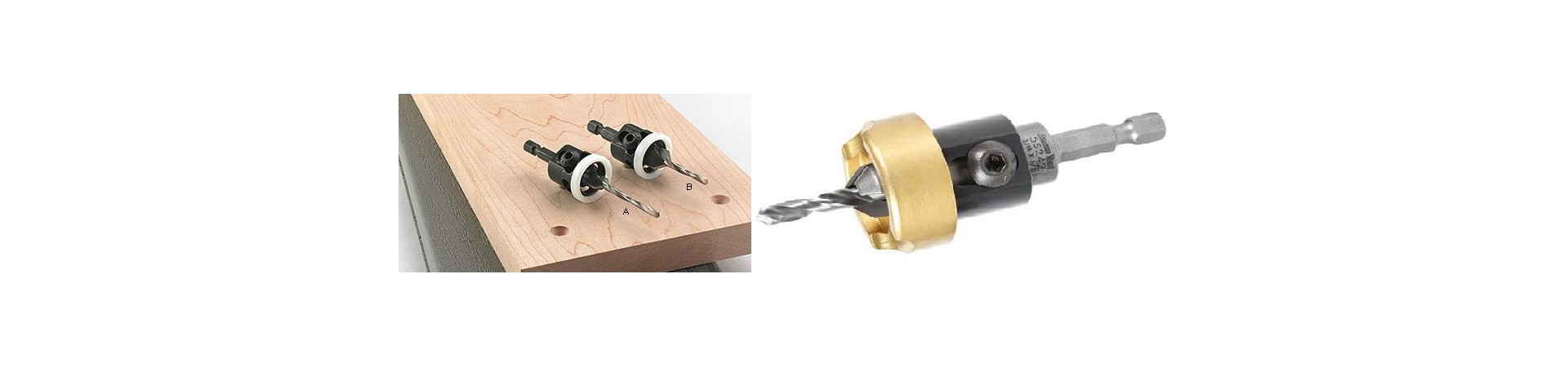 Countersinks With Depth Stops